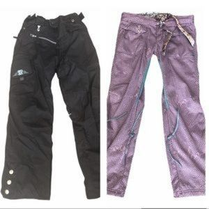 686 Smarty 3 in 1 Black Pink Cargo Snow Pants